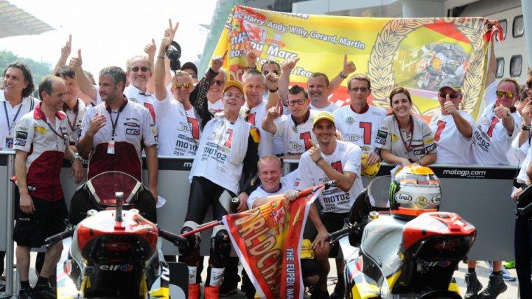 Moto2 & Moto3 champion!!!