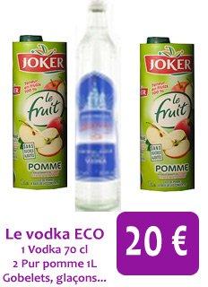 Le Packs Vodka ECO à 20 ¤ !! Exclusif !!!