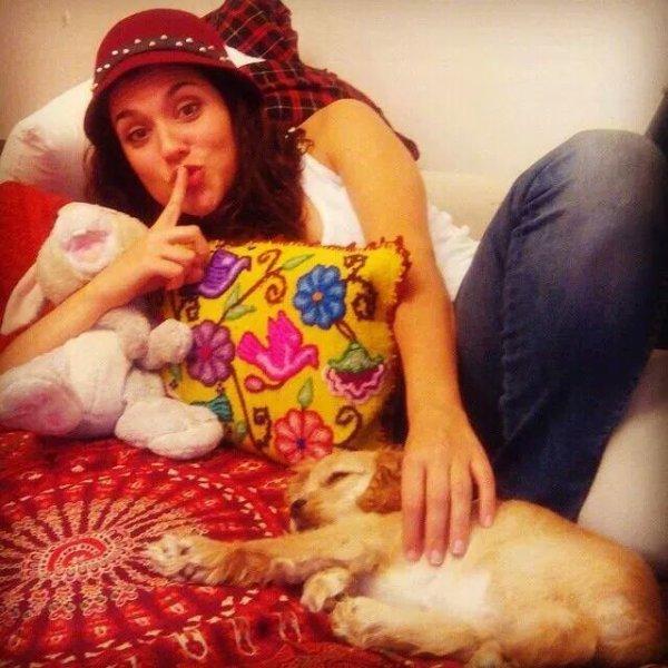 nata et son chien <3