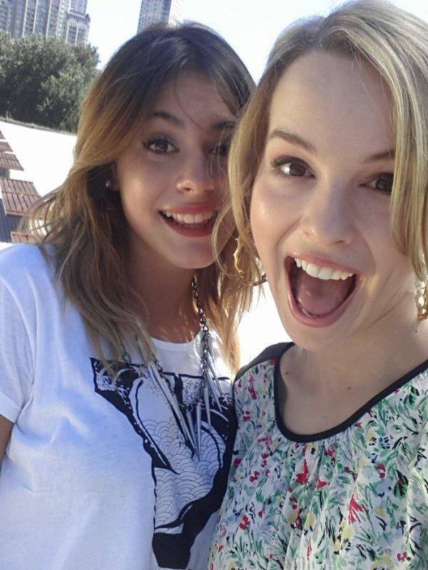 ♥ Martina Stoessel & Bridgit Mendler ♥