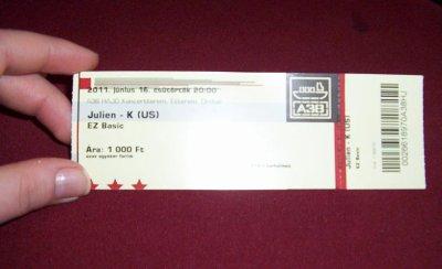 JK Ticket