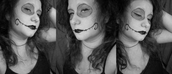 Halloween Make-up (a little late)