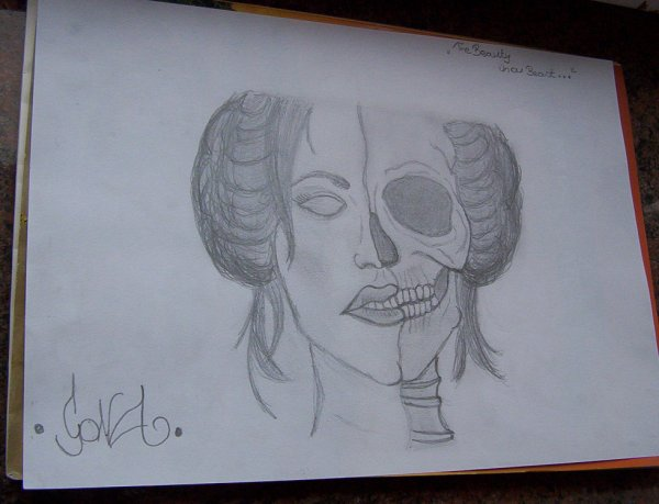 New Drawing : The Beauty In a Beats