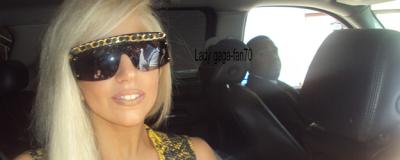 Lady Gaga vue quittant son hôtel à Los Angeles.