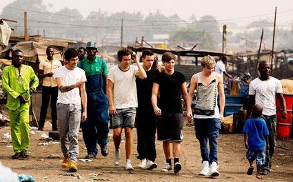 Leur voyage au Ghana