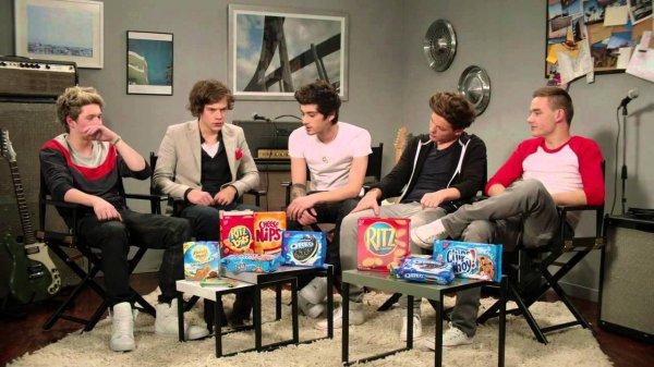 One Direction : Crème ou Cookie, leur débat hilarant !