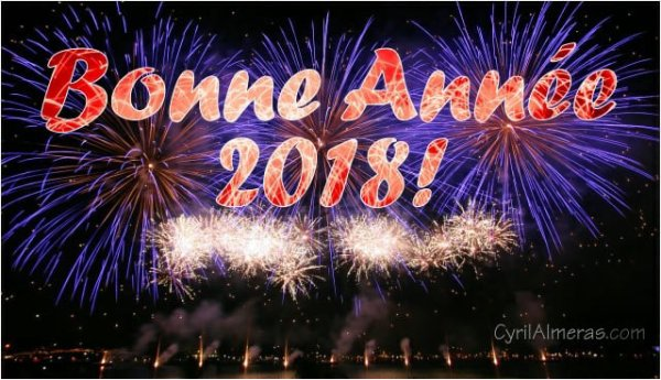 Bonne année bonne santé 2018