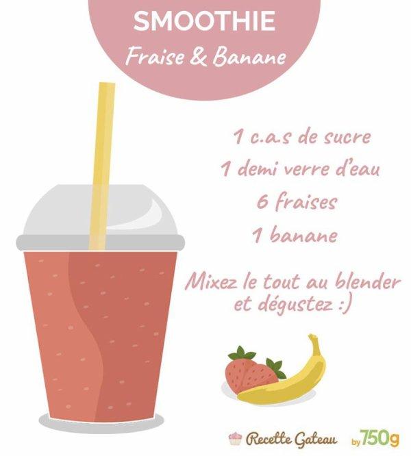 Smoothe Fraise & Banane