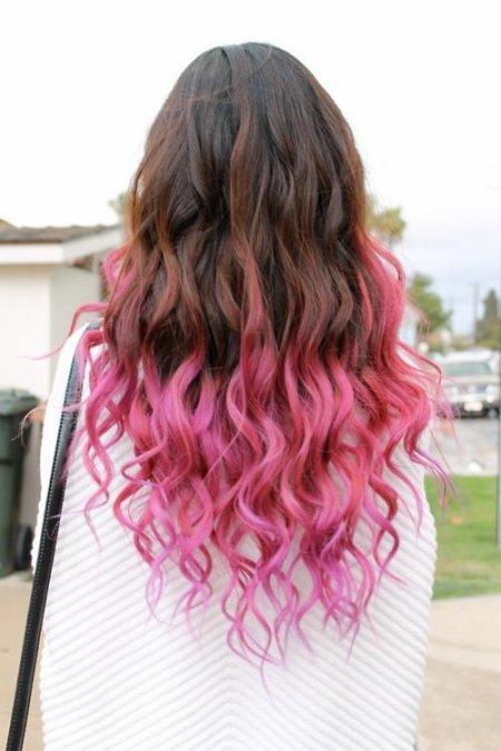 coiffure tiedye temporaire - Coloration Temporaire Cheveux