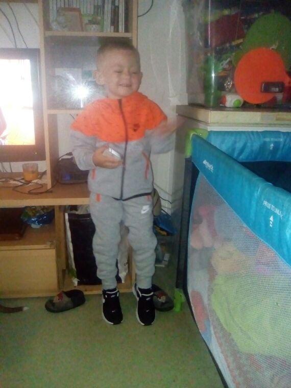 Mon amour de petit fils pour sa première journée d'école