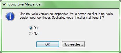 Windows Live Messenger: une fin triste