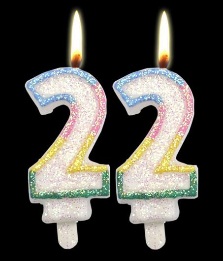 22 ans aujourd'hui