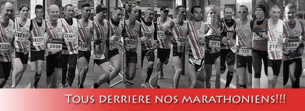 Tous derrière nos marathoniens
