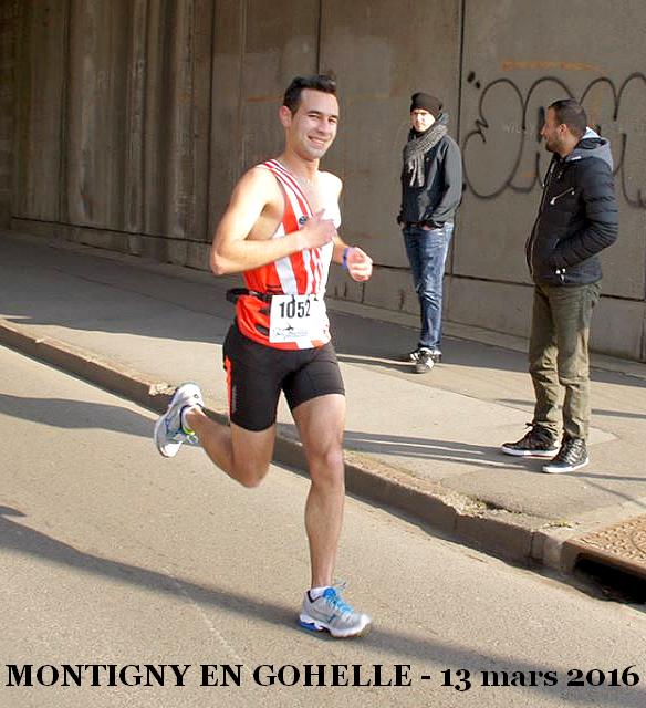 Courir à Montigny en Gohelle - 13 mars 2016