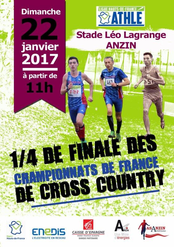 Quart de finale de cross-country - Anzin