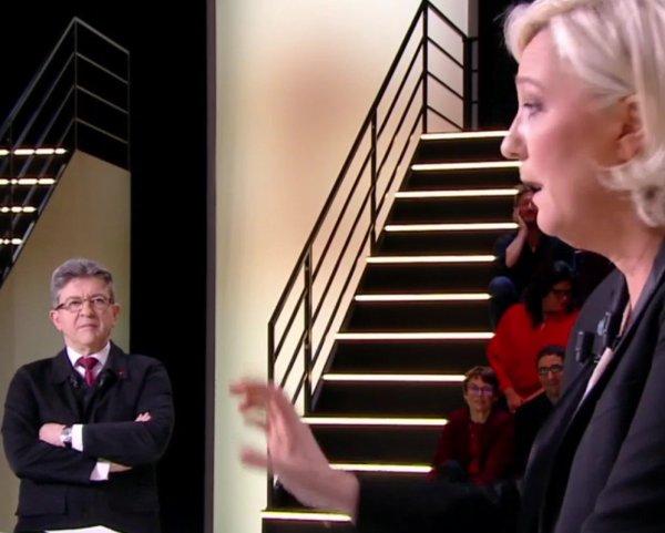 Jean-Luc Mélenchon en mode rage