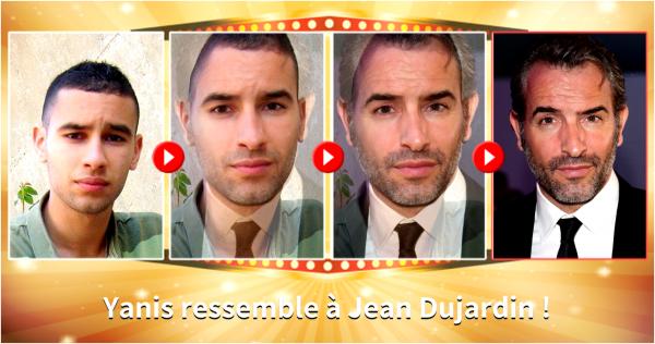 SuperYB ressemblerait à... Jean Dujardin.