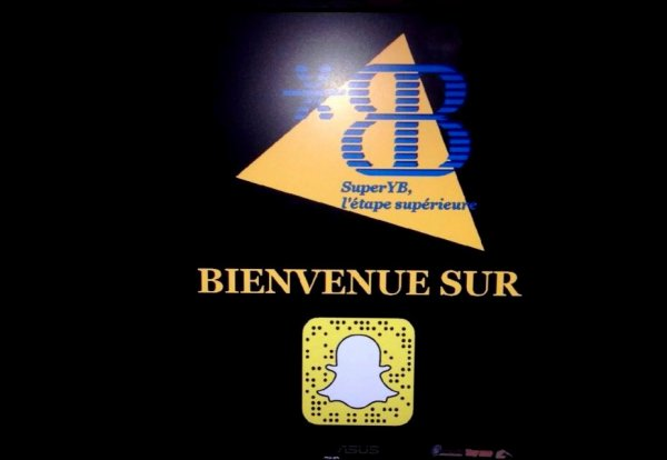 SuperYB débarque sur Snapchat