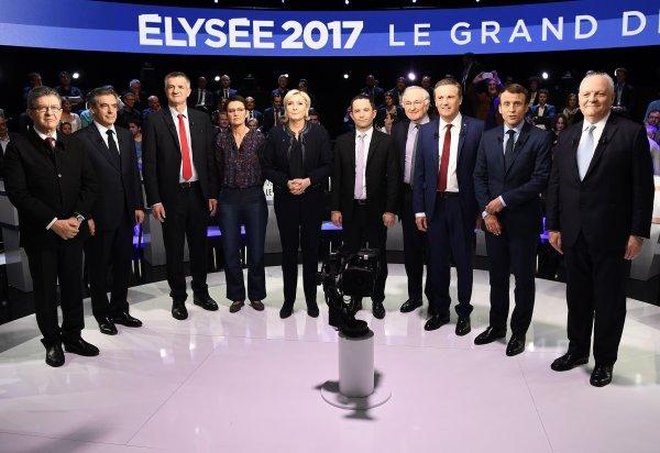 Le débat des élections présidentielles 2017