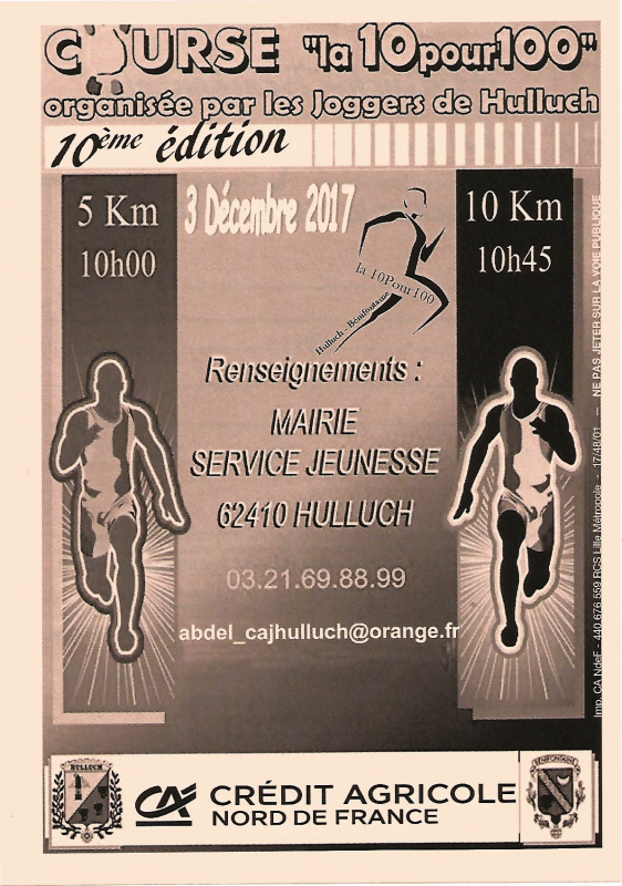 10 pour 100 2017 à Hulluch