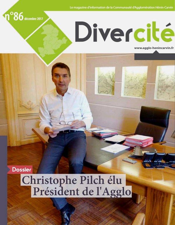 Christophe Pilch, élu Président de la CAHC