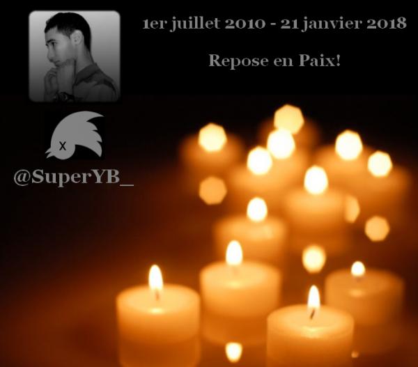 @SuperYB_, 1er juillet 2010 - 21 janvier 2018