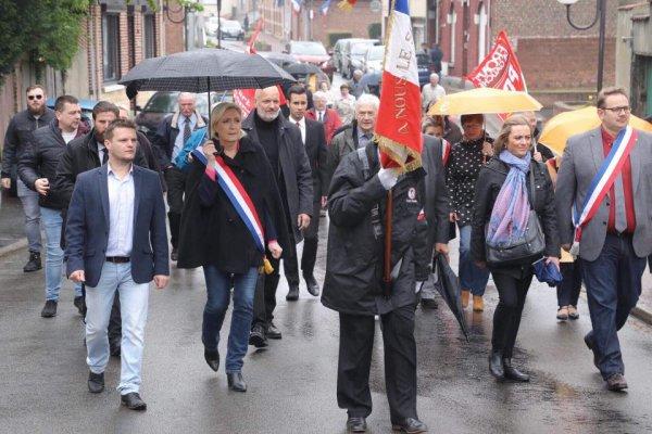 Journée de la déportation, 29 avril 2018: Marine LE PEN à la rencontre de Montigny-en-Gohelle et de... Yanis BARAKA!