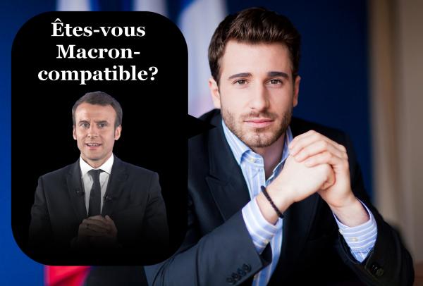 Julien Rochedy invente le test de Macron-compatibilité