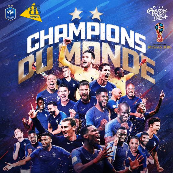 1998-2018: Bravo la France!