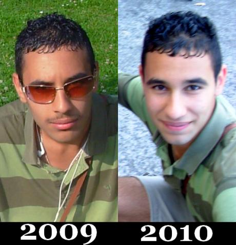 Eté 2009 vs Eté 2010