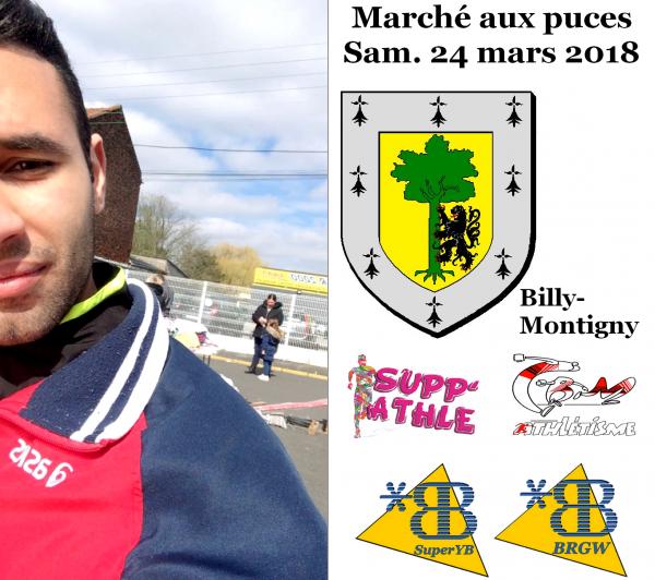 Marché aux puces - Samedi 24 mars 2018