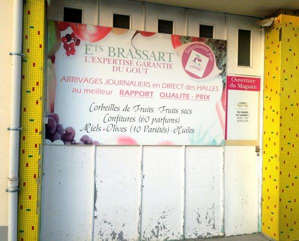 Etablissements Brassart: une pancarte fait de la résistance