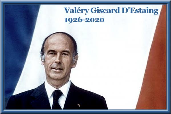 Valéry Giscard D'Estaing, 1926 - 2020