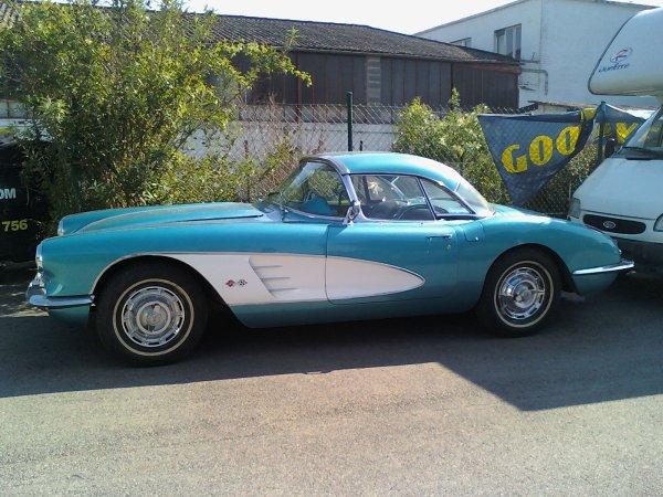 corvette roadster 1959 !