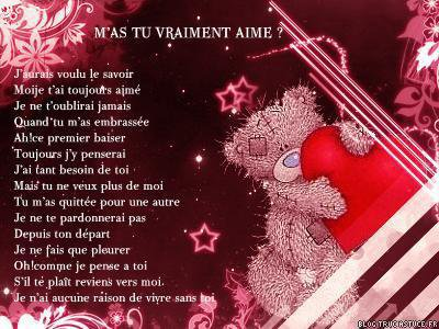Jolie Poeme Damour Blog De Zazatte21