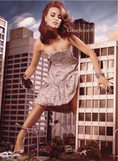 Les filles du Glee Cast pour Elle Magazine US en février 2012