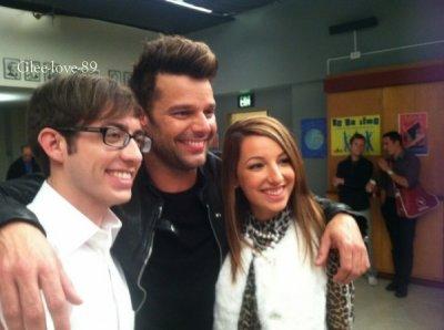 News saison 4 de Glee + un rôle qui va devenir reccurent à la saison 4 + details sur le rôle de Ricky Martin