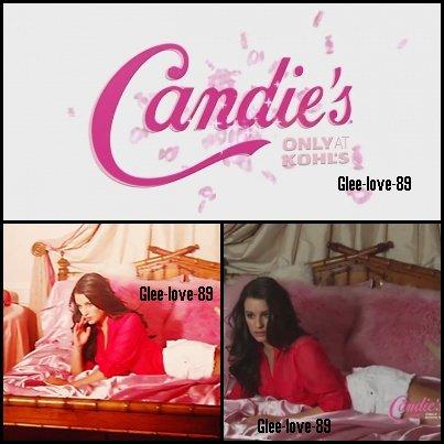 Lea Michele égerie de Candie's