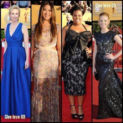 Le Glee Cast au SAG 2012