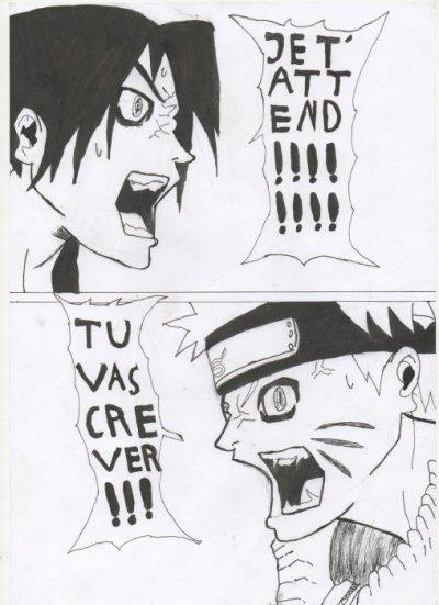 Naruto Vs Sasuke 2 Blog De Dessin De Baba