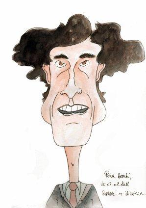 Rafagé ( un des plus grand auteur de dessin de presse Belge)