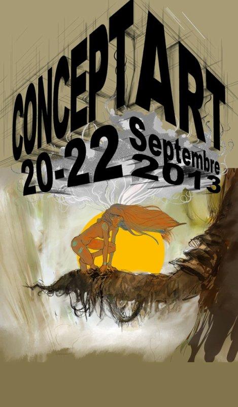 Concept art 2013 ( début de l'affiche réalisée par Sibertin-Blanc Pascal)