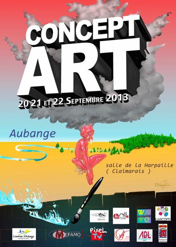 Concept art à Aubange ( 2013) les 20,21,22 septembre