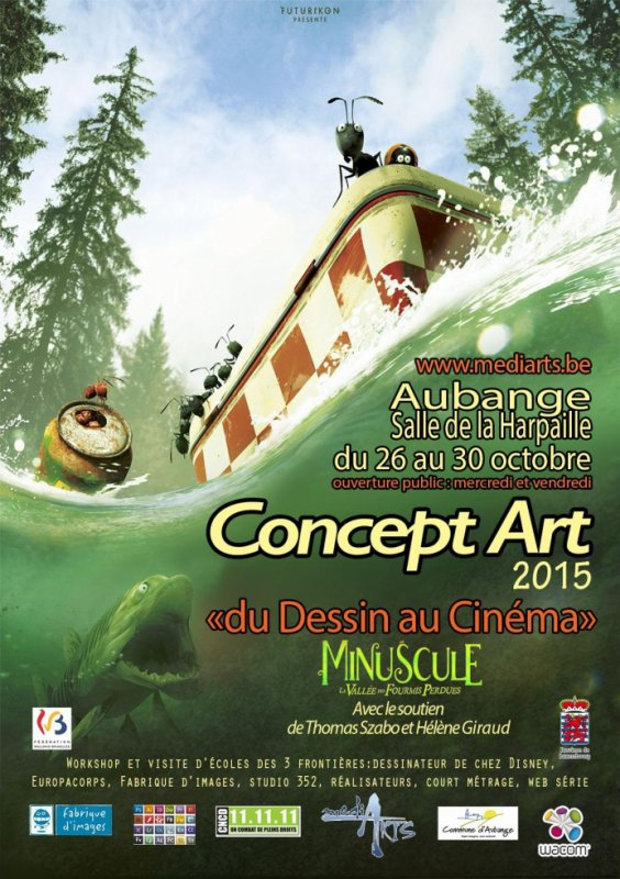 Character design / concept art 2015 en belgique
