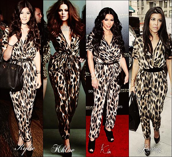 « Qui de Kylie, Khloé, Kim ou Kourtney porte le mieux cette combinaison léopard ? »