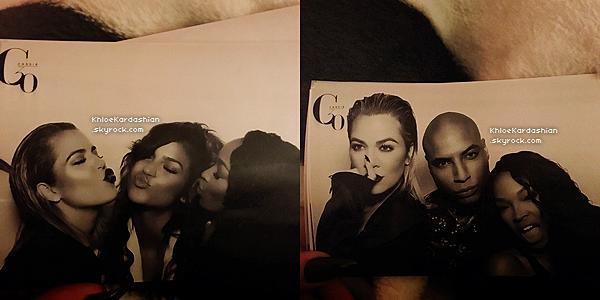 27 AOUT 2016 •● Khloé et ses deux meilleures amies étaient à une soirée chez des amis à Los Angeles.