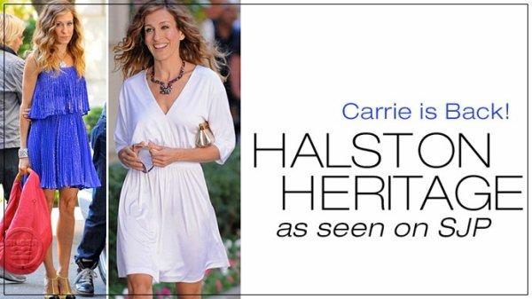 Sarah Jessica Parker laisse tomber la maison Halston !