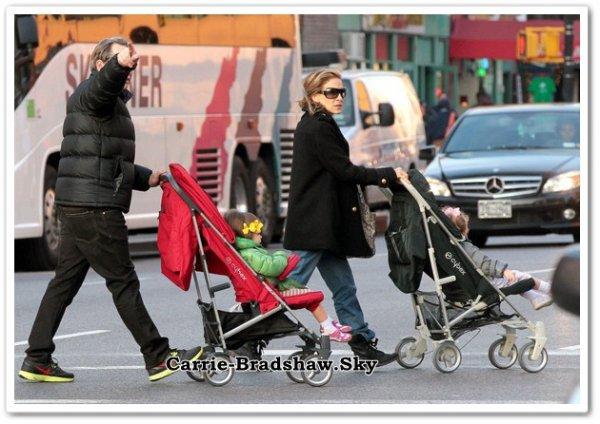 Sarah Jessica Parker et son mari Matthew Broderick