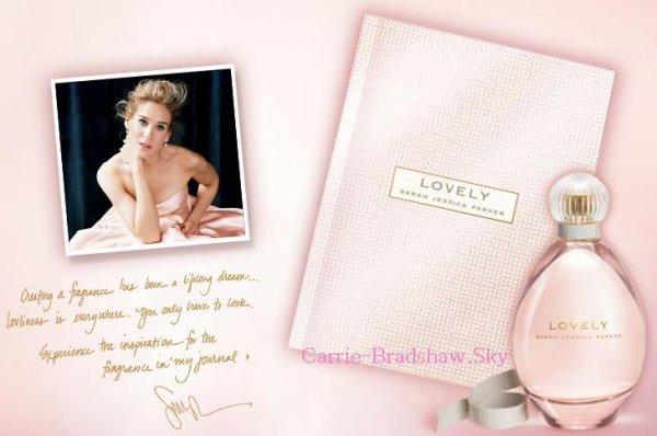 Le parfum Lovely de Sarah Jessica Parker est en Troisième place du podium 2011