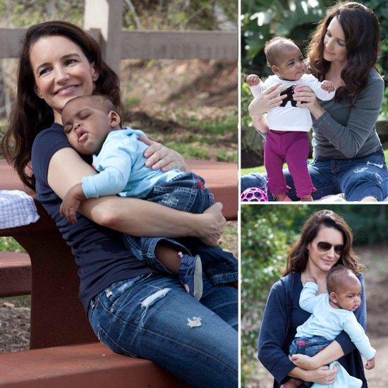 Kristin Davis et sa fille